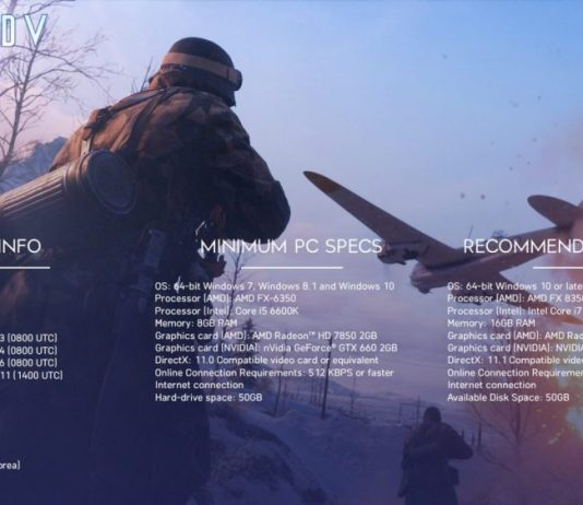 Battlefield V Açık Beta