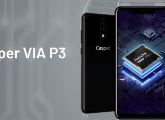 Casper VIA P3 pil