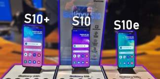 Galaxy s10, S10+ ve S10e Android 10