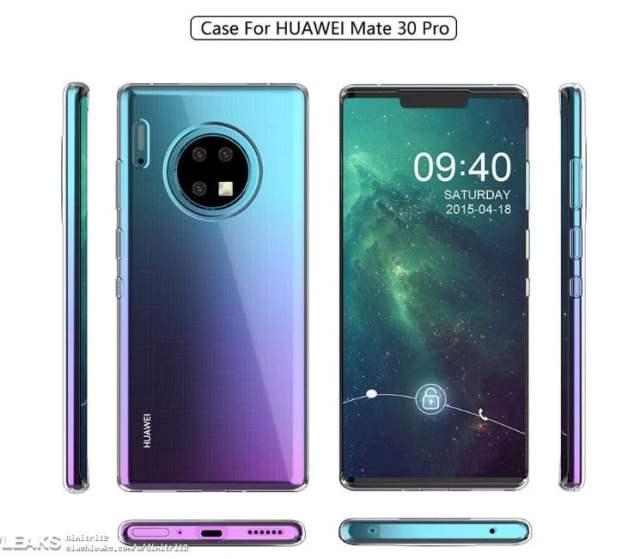 Huawei Mate 30 Pro ve Mate 30 Görünümü
