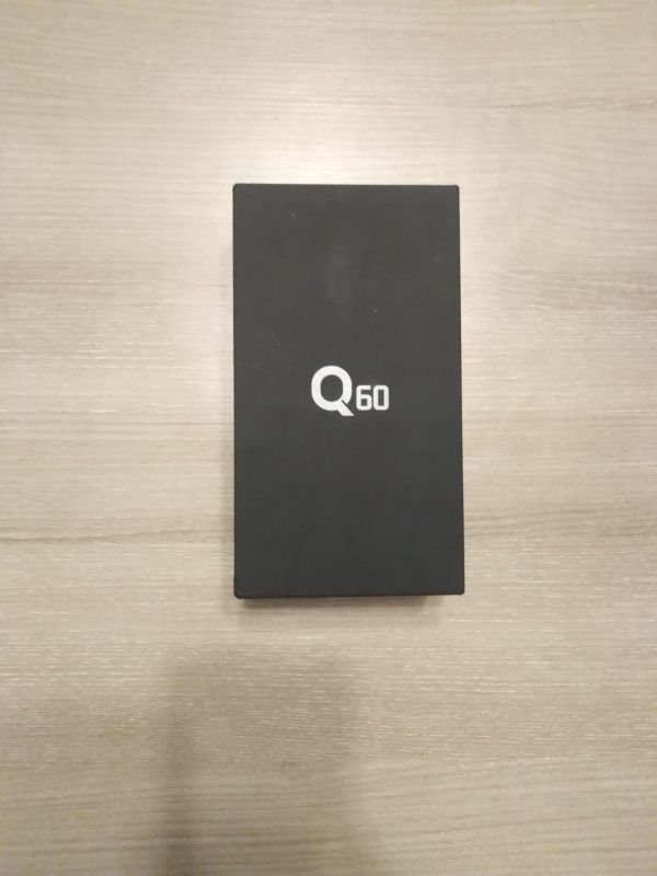LG Q60 Kutu İçeriği