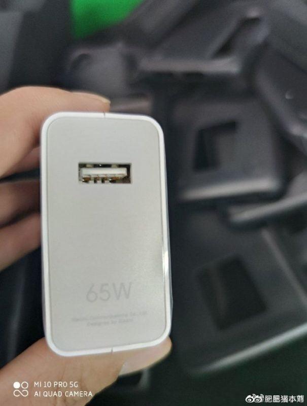 Xiaomi Mi 10 Pro 65W şarj