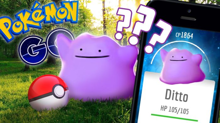 E' apparso Ditto in Pokemon Go!