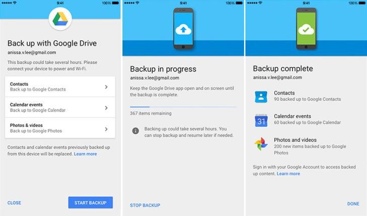 Passare da iOS ad Android, la ricetta di Google