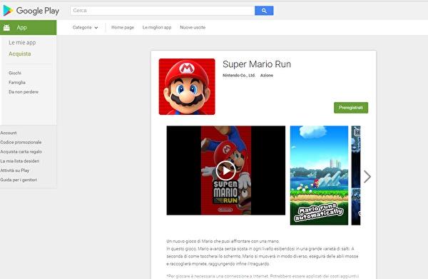 Super Mario Run: Registrazioni aperte su Android