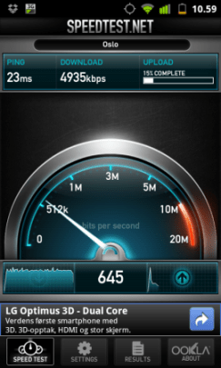 Speed test teknolicious