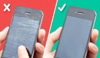 Telefon Ekranınız Çizildi İse Onarmanız Mümkün!