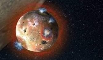 Jüpiter'in Uydusunda Yanardağ Keşfi