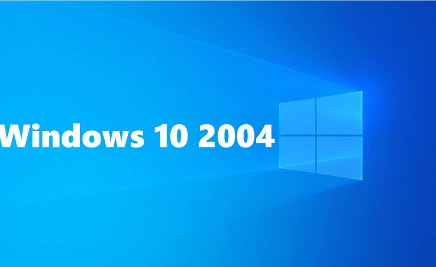 Microsoft, Windows 10, Güncelleme, 2004