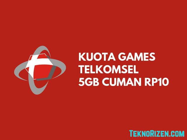 kuota game telkomsel