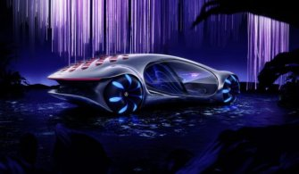 Mercedes-Benz'in Avatar'dan esinlenerek ortaya koyduğu konsept otomobili – Vision AVTR