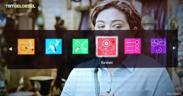 finlux smart tv,kanal arama,sinyal yok,ilk kurulum,fabrika ayarlarına alma,turksat 4a uydu kanal ayarları