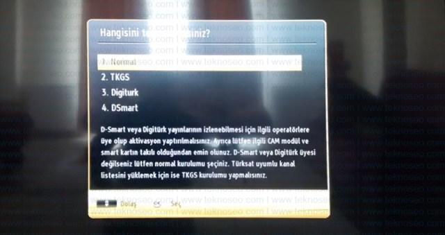 seg smart tv,turksat 4a,uydu ayarları,kanal arama,sinyal yok