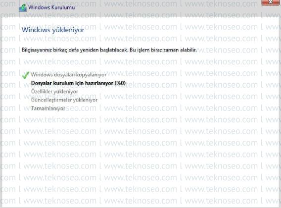windows 8.1,temiz kurulum,format atma,microsoft hesabı olmadan windows kurulumu,format nasıl atılır