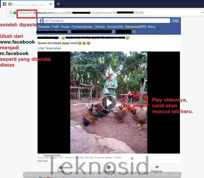 Cara Download Video di Facebook Lewat PC (2)