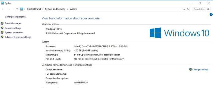 System Properties - Cek Spesifikasi PC Laptop -1