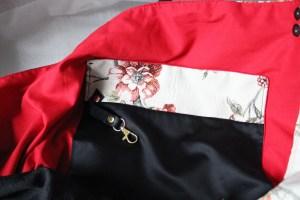 borsa di tessuto fatta a mano da Tekoa Milano