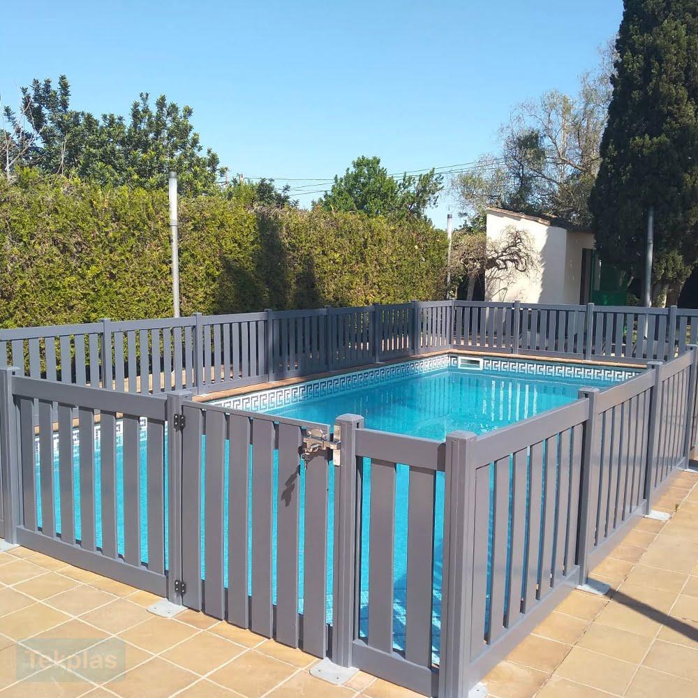 Plastic Swimming Pool Fencing | Plastic Fencing | Tekplas
