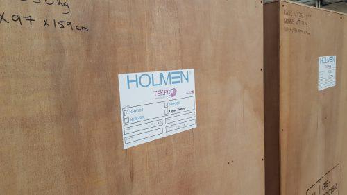Holmen News: 2 More NHP300 Inline Testers head for EMEA region…
