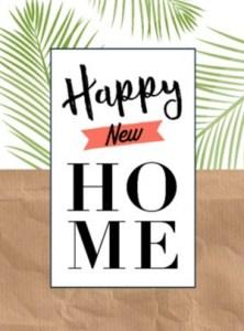 Gefeliciteerd met je nieuwe woning