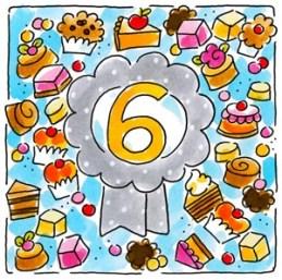 Verjaardagswensen 6 jaar