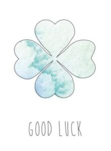 Good luck kaart