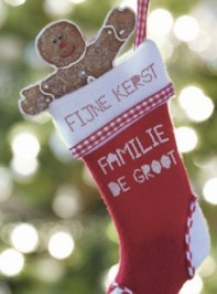 Kerstkaart met uitnodiging