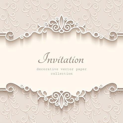 Nieuw Uitnodiging teksten. Overzicht met teksten voor een uitnodiging FU-12