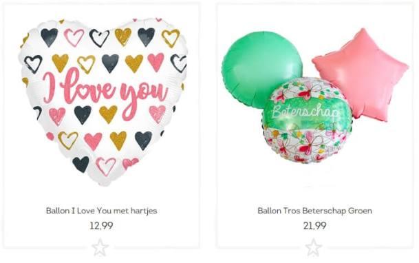 Beterschapsballonnen