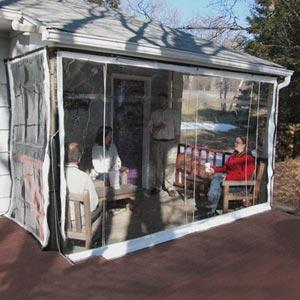 porch patio clearview enclosures