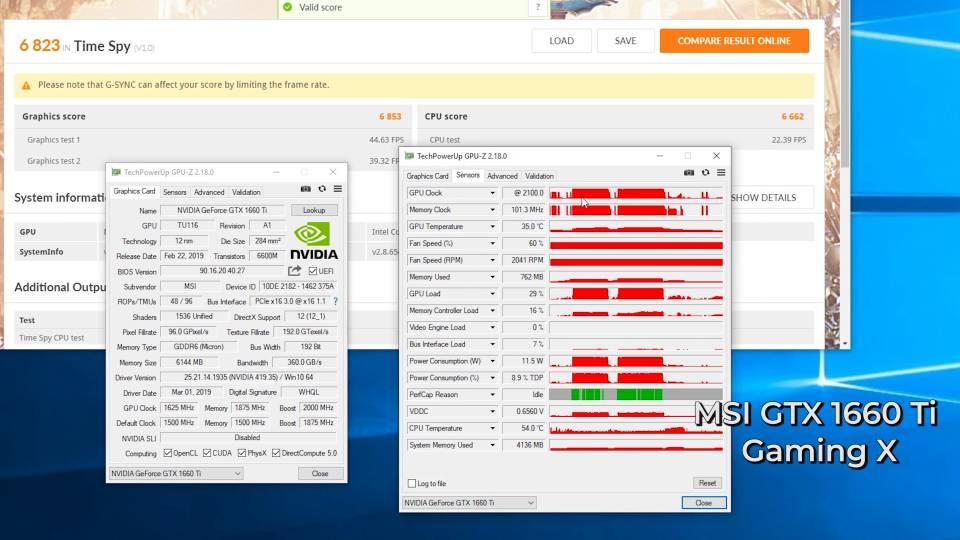 MSI GTX 1660 Ti Gaming X vs Armor OC | TekTick