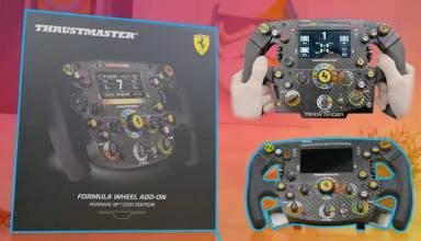 Thrustmaster F1 SF1000 wheel add on