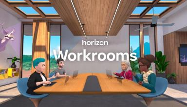 Facebook News Horizon VR Workrooms