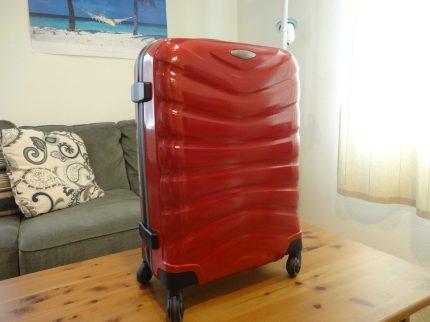 Samsonite Firelite Chili Red Carry-On Curv