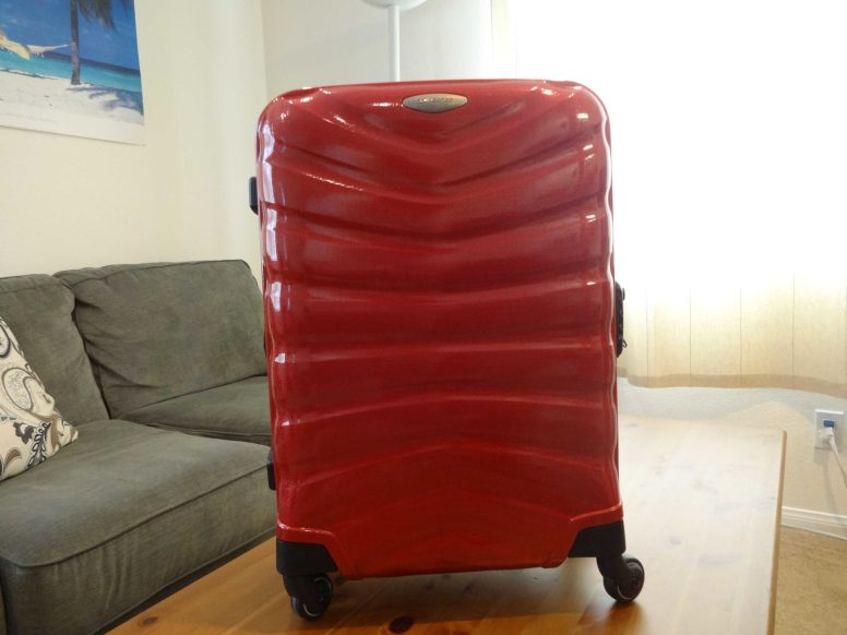 Samsonite Firelite Chili Red Carry-On Front