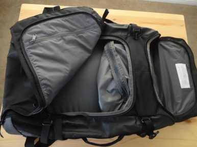 Timbuk2 Aviator Convertible Travel Backpack 2015 Pockets