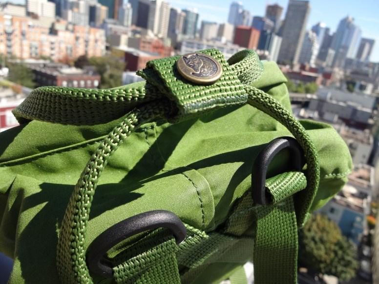 Fjallraven Kanken Mini Leaf Green - Top Handles