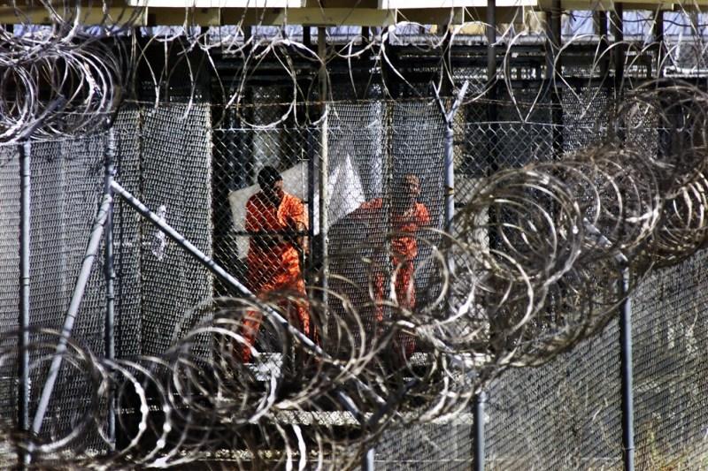 Cinco acusados de participar en los atentados del 11-S fueron llevados a la cárcel de Guantánamo.