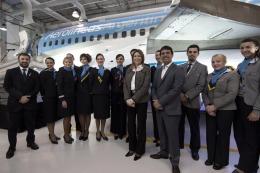 Aerolíneas inauguró un centro de capacitación para tripulantes de cabina