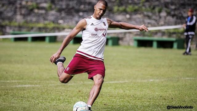 """Rondón, la figura de la """"Vinotinto"""" que se queda sin Copa América (foto archivo)"""