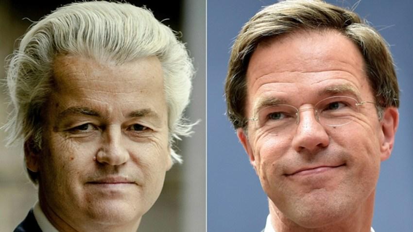 Wilders y Rutt vuelven a enfrentarse en los Países Bajos