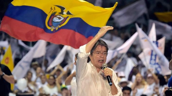 Guillermo Lasso, líder de CREO