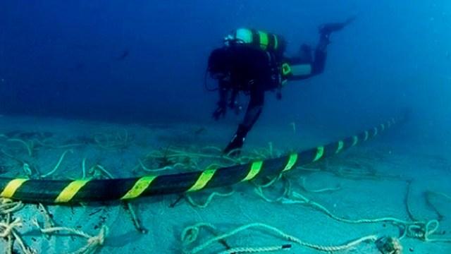 El cable de fibra óptica será el primero del mundo que, a pesar de su longitud, será capaz de funcionar con una sola fuente de energía.