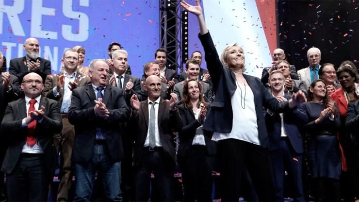 Sondeos anticiparon que el partido que encabeza Marine Le Pen puede quedarse con alguna de las administraciones