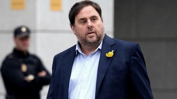 El ex vicepresidente catalán, Oriol Junqueras.