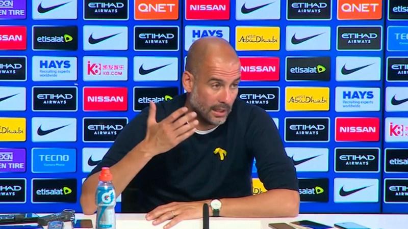 """Guardiola se enteró del anuncio """"unas horas antes"""" y que """"nadie"""" del club ofreció más detalles que lo publicado."""