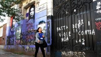 La casa de la Plata donde Barreda cometió el cuádruple femicidio.