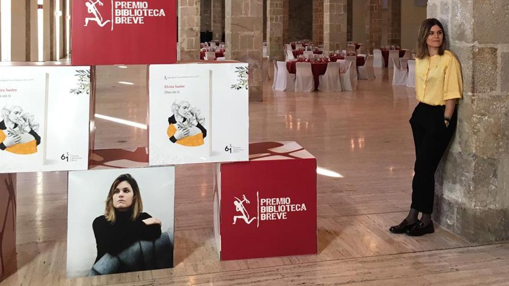5c59f4e0edf14 - La española Elvira Sastre ganó el Premio Biblioteca Breve 2019 de Seix Barral