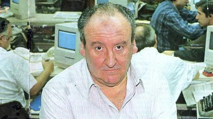 Héctor Ricardo García, el director de Crónica, que viajó para retratar el Operativo.