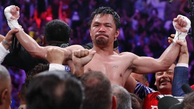 La última pelea de Pacquiao fue en julio de 2019.